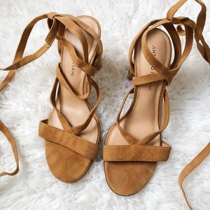 Antonio Melani Suede Strappy Sandals
